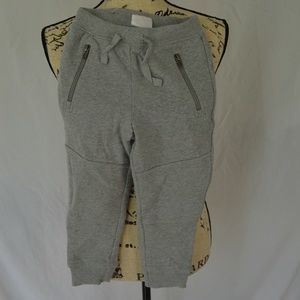 Hanna Andersson Size 100 4T/5T Gray Sweatpants NWT